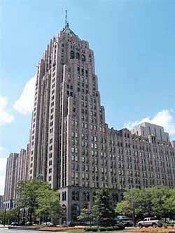 Fisher Building в Детройте
