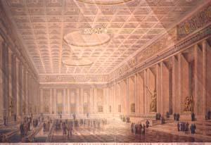 Дворец Советов. Зал Приемов Правительства (1946)