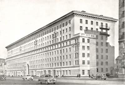 Дом на Большой Калужской улице. Сталинская премия II степени, 1949 год