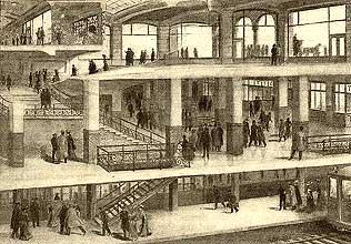 Подвал небоскреба начала 20 века
