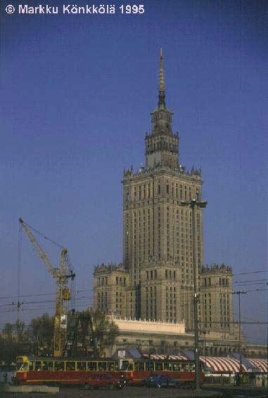 Высотка в Варшаве